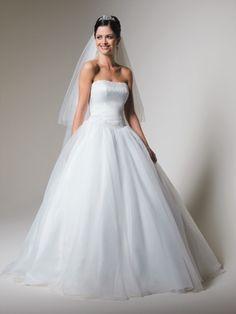 princess wedding gowns   Princess Wedding Dress And Bridal Gown (ELLABD035)