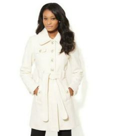 BRRR -- We want coats like this Olivia Pope-like one from NY&Co.
