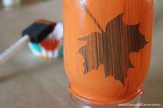 Mason Jar Fall Luminary   Create Craft Love