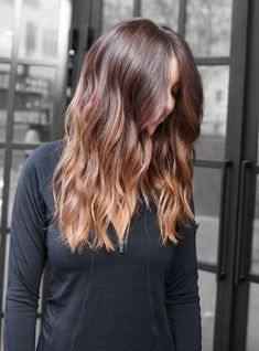 "2017's Biggest Hair Colour Trend: Hygge #refinery29 http://www.refinery29.uk/new-hair-colour-trends#slide-6 Choi calls this one ""light, golden-toffee blonde ends over natural auburn hair"" — the perfect example of an on-trend take on bronde. ..."