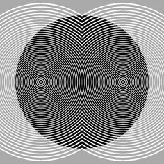 Double-Double Vision by Michael Alford Art Optical, Optical Illusions, Geometry Art, Sacred Geometry, Op Art, App Design, Dazzle Camouflage, Pattern And Decoration, Illusion Art