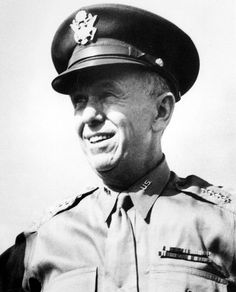 "General George C. Marshall during World War II. Harry Truman though him to be the finest soldier and man he ever knew. He admired General Marshall so greatly that he named the US program to help the countries of Europe recover, ""The Marshall Plan."""