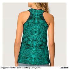 Trippy Geometric Bliss Tshirt2 Tank Top