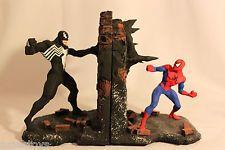 book ends spiderman | SPIDER MAN VS VENOM BOOKEND BOWEN MARVEL COMICS!!!