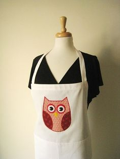 Owl Applique Apron, starting at $10.