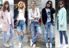 Adidasi cu jeans