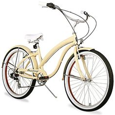 Firmstrong Women's 26-in. Bella Fashionista Seven-Speed Beach Cruiser Bike