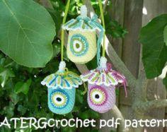 Pdf patroon BIRD HOUSE by ATERGcrochet haak