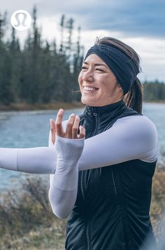 Bask in the cold. Technical lululemon run gear is designed to keep you covered on chilly days. Workout Attire, Workout Wear, Workout Style, Fly Fishing Girls, Lazy Girl Workout, Outdoor Apparel, Fishing Outfits, Fitness Photography, Cool Costumes