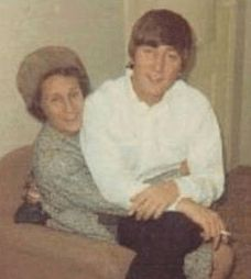 John & Mimi-his aunt who raised him after the death of his mum-Julia.