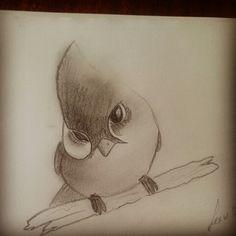 Bird anonymousdrawing.blogspot.com