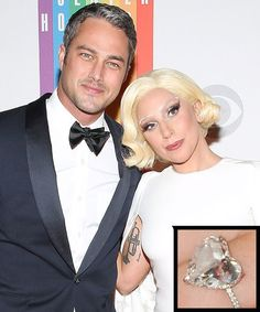 Lady Gaga shared a sweet photo of her ex-fiance Taylor Kinney with her mother, which made fans wonder about their relationship status — see the pic! Celebrity Rings, Celebrity Engagement Rings, Celebrity Couples, Celebrity Weddings, Celebrity News, Celebrity Jewelry, Evan Ross, Portia De Rossi, Taylor Kinney
