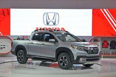 Le tout nouveau pickup Honda Ridgeline 2017 fait ses débuts au Canada à l'occasion de l'édition 2016 du Salon international de l'automobile…