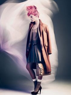 Style Crimes – Swedish retailer, NK Stockholm, enlists Andreas Sjodin for their latest campaign which takes strict fashion rules and breaks them with a bold elegance. With art direction by Garbergs, model Sara Blomqvist gets swathed in fall layers and cotton candy hues from the likes of Max Mara, Rodebjer, Nicole Farhi, Acne, Moschino and Jimmy Choo styled by Robert Rydberg