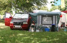 Camping at #DevonDubFest