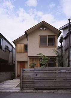 Minimal House Design, Modern Small House Design, House Front Design, Minimal Home, Japan Modern House, Japan House Design, Small Japanese House, Japanese Style House, Casas The Sims 4