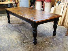 Farmhouse Table by Furnacebrook on Etsy, $3,200.00