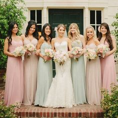 Find More Bridesmaid Dresses Information about 2015 New Chiffon Long Bridesmaid Dresses Pleats Wedding Party Bridesmaid Group Gown,High Quality gown jacket,China dress trendy Suppliers, Cheap dress swing from Hh-Dress on Aliexpress.com