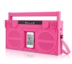iHome iP4 iPod/iPhone boombox