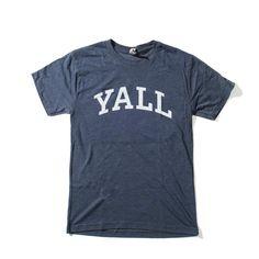 Yall University Shirt - Texas Humor Store