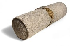Gold Knot Bolster Cushion | Aiveen Daly