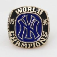 Enamel 2015 Sales Promotion for Replica Newest Design 1996 Yankees Major League Baseball Championship Ring for Fans