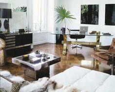 La Dolce Vita. timber, white, cream, fur, silver, gold.