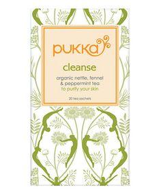 Love this Cleanse Organic Herbal Sachet Tea - Set of Three on #zulily! #zulilyfinds