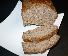 Rezept Eiweißbrot auf die Schnelle Ruck Zuck - low carb- Kohlenhydratarm von Smicky - Rezept der Kategorie Brot & Brötchen
