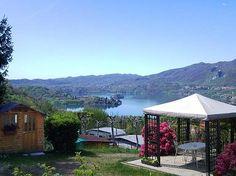 """Camping Royal Italië - Piëmont - Novara - Pettenasco   Beoordeling: 8,2 - Camping geschikt voor gehandicapten - """"Zeer rustig gelegen en verzorgde camping met prachtig uitzicht op het lager gelegen Ortameer."""""""