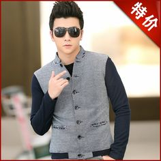 Find More Information about Autumn and winter jacket male outerwear slim jacket male fashionable casual outerwear male jacket,High Quality jacket male,China jacket batik Suppliers, Cheap jacket children from Name Brand Fashion Factory on Aliexpress.com Armani Brand, Branded T Shirts, Fashion Brand, Winter Jackets, Vest, Slim, China, Autumn, Children