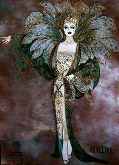 Gregg Barnes costume designs for Follies 2011.