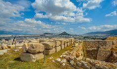 ruinas, ciudad, antigua, acrópolis, templo, atenas, grecia, 1704141507