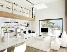Interior designed by Susanna Cots - it's white done right.