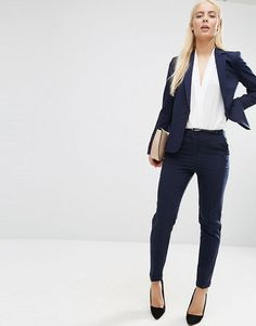 ASOS | Navy Tailored Fitted Suit | $99