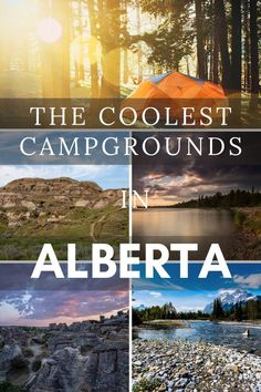 Camping Places, Camping Spots, Places To Travel, Places To See, Camping Ideas, Alberta Travel, Best Campgrounds, Canadian Travel, Bon Voyage