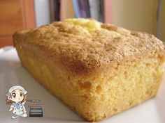 Cake de Maicena para celiacos Delicious Deserts, Gluten Free Recipes, Cupcake Cakes, Dairy Free, Bakery, Food And Drink, Cooking Recipes, Bread, Snacks