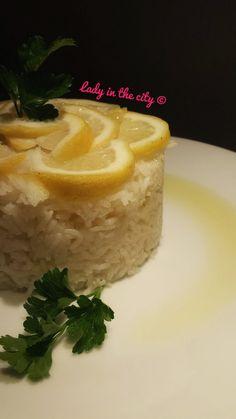 Le ricette della Lady: riso basmati al limone