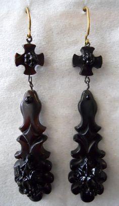 Victorian pierced earings