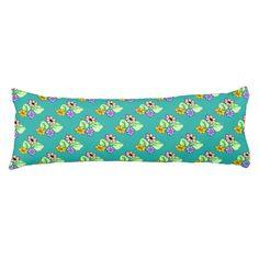 Springtime Flowers Body Pillow