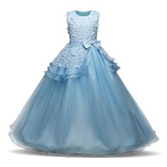 Cheap dresses for girls, Buy Quality girls long dress directly from China party dresses for girls Suppliers: Flower Girl Long Dress Christmas Party Wear Kids Clothes Party Dresses For Girl Frocks Children's Costume Teenage Girl Ceremony