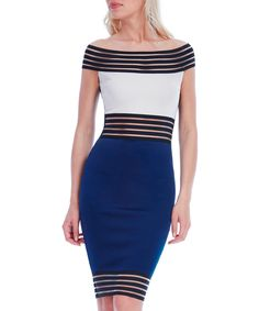 Signup with this invite address to earn you and your friends £10 off https://secretsales.com/invitations/detail/Navy-contrast-panel-Bardot-dress-1856812?invite=9366751