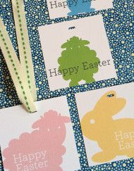 Free printable easter gift tags and stickers easter free easter printable gift tags negle Image collections