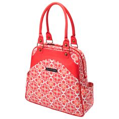 Petunia Pickle Bottom Sashay Satchel Organic Fire Flower Fields #laylagrayce