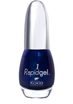 Used Once - RapidGel in color Blue Me Away.  The newest innovation in nail polish. This 2-step gel polish system brings you the limitless shine and saturated colors of UV gel without the hassle. These luxurious shades will give you up to 7 days of nonstop glossy color. Apply and remove like normal nail polish – no UV light or soaking required.