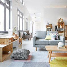 Que tal utilizar a madeira crua na decoração? O ambiente fica muito mais leve e iluminado! // #decoracao #decor #home #homedecor // via pinterest