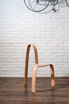 The AlmostNotaChair Chair by Miroslav Truben​​ Yanko Design is part of Chair design wooden - Funky Furniture, Classic Furniture, Unique Furniture, Wood Furniture, Furniture Design, Bespoke Furniture, Yanko Design, Metal Chairs, Cool Chairs