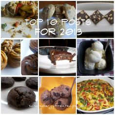 Top 10 Posts of 2013- Recipes that are Gluten Free, Dairy Free, and Refined Sugar Free