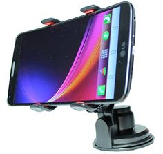 nice XL Universal Smartphone Car Mount for Windshield and Dashboard – iphone 5 4, Lg G 3 Flex, HTC One, Samsung Galaxy Note 2 3, Galaxy S2 S3 S4 S5 and Most Mobile Phones – Perfect for Large or Shaped Screens, GPS, and Smaller Devices – Protect Your Investment. Drive Safe.