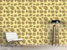 Design #Tapete Abstraktes Mosaik